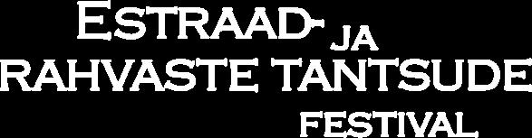 Estraad- ja rahvaste tantsude festival